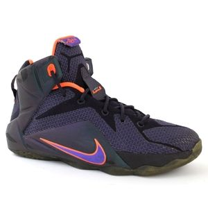 Nike LeBron James 12 Instinct High Top Youth Shoes